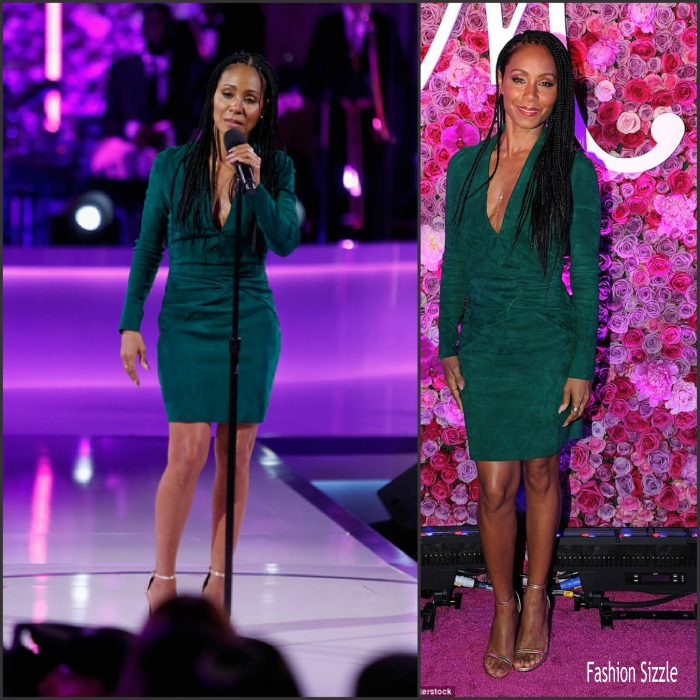 Jada Pinkett Smith along with her family  attended VH1's 'Dear Mama' Taping at St. Bartholomew's Church on May 3, 2016 in New York City.