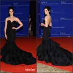 Jaimie Alexander  In Christian Siriano – White House Correspondents Dinner 2016