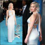 Jennifer Lawrence In Dior –  XMen Apocalypse Global London Screening