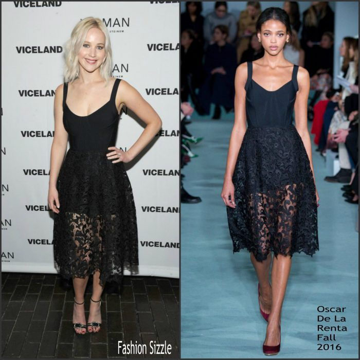 Jennifer Lawrence attended the premiere of Woman on Wednesday (May 4) in New Yor