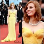 Jessica Chastain In   Armani Prive – at 'Cafe Society' Premiere and 69th Cannes Film Festival Opening