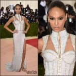 Joan Smalls  in Balmain  2016 Met Gala