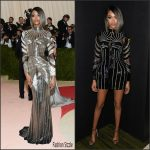 Jourdan Dunn  in Balmain –  2016 Met Gala
