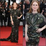 Julianne Moore  In  Givenchy Couture –  'cafe Society' Premiere And 69th Cannes Film Festival Opening