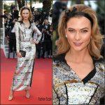 Karlie Kloss In  Louis Vuittion – Julieta Premiere  69th Cannes Film Festival