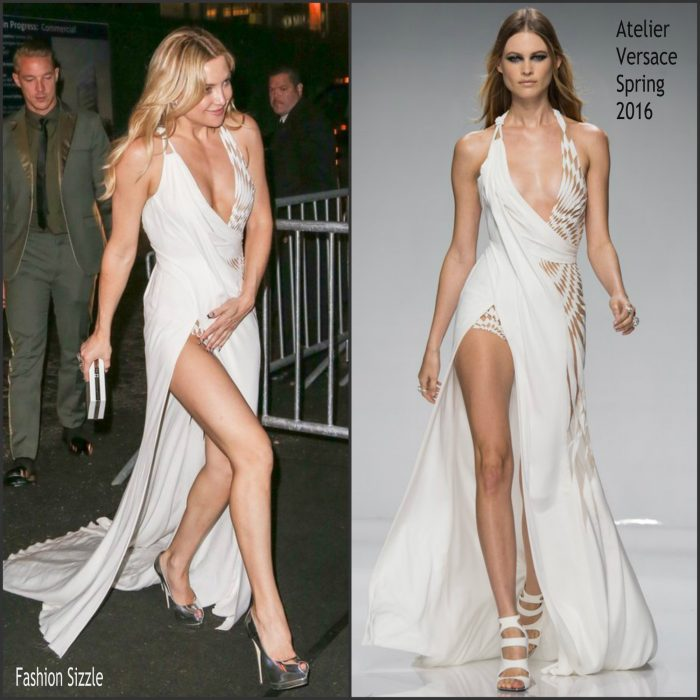 After attending the Met Gala , Kate Hudson was spotted arriving to a  Met Gala After Party on May 2, 2016