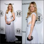 Kate Hudson In  Roberto Cavalli Couture  at The Harmonist  Cocktail Party during  Cannes 2016