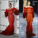 Katy Perry In  Marchesa  –   amfAR's 23rd Cinema Against AIDS Gala at 69th Cannes Film Festival
