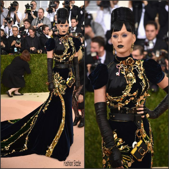 Katy Perry  was in attendance at  the 2016 MET Gala, Manus X Machina-Fashion in an Age of Technology at the Metropolitan Museum of Art in New York  on May 2, 2016.