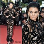 Kendall Jenner in Roberto Cavalli at  From The Land 0f The Moon(Mal De Pierres) 69th Cannes Film Festival Premiere