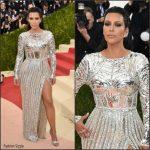 Kim Kardashian in Balmain – 2016 Met Gala
