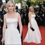 Kirsten Dunst in Christian Dior Couture at  Loving 69th Cannes Film Festival Screening