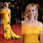 Kirsten Dunst  In  Maison Margiela   at The Neon Demon 69th Cannes Film Festival Premiere