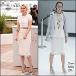 Kristen Stewart in Chanel  at  'Cafe Society' Photo Call – 2016 Cannes Film Festival