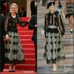 Kristen Stewart  In Chanel – 'cafe Society' Premiere And 69th Cannes Film Festival Opening