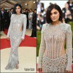 Kylie Jenner In Balmain – 2016 Met Gala