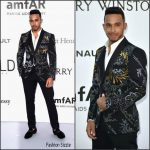 Lewis Hamilton  In Ports 1961 at amfAR Cinema Against Aids Gala at Cannes 2016
