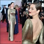 Marion Cotillard  In Dior –   at  From The Land 0f The Moon(Mal De Pierres) 69th Cannes Film Festival Premiere