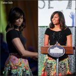 Michelle Obama in Alice + Olivia at The White House Turnaround Arts Talent Show