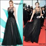 Mischa Barton in Georges Hobeika at Loving 69th Cannes Film Festival Screening