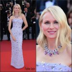 Naomi Watts in  Armani Prive – at the Cafe Society 69th Cannes Film Festival Premiere & Opening Ceremony