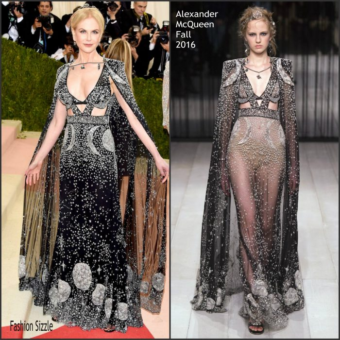 Nicole Kidman  attended the 2016 MET Gala, anus X Machina-Fashion in an Age of Technology last night May 2, 2016 at the Metropolitan Museum of Art in New York.