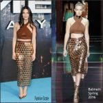 Olivia Munn  in Balmain – XMen Apocalypse Global London Screening