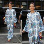 Rihanna in Dolce & Gabbana  Out In New York