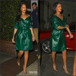 Rihanna in  Nina Ricci  – Mothers Day Dinner at Giorgio Baldi in Santa Monica