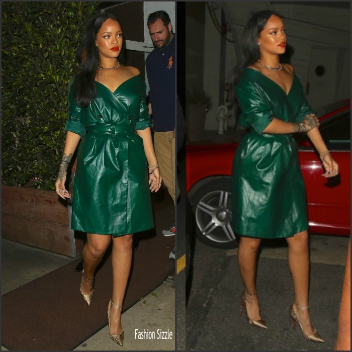 Rihanna  was spotted leaving  a mothers day Dinner with her family   at Giorgio Baldi in Santa Monica on May 8, 2016.