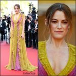 Riley Keough  In Gucci – at American Honey 69th Cannes Film Festival Screening