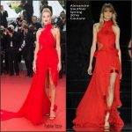 Rosie Huntington-Whiteley  In  Alexandre Vauthier at Unknown Girl (La Fille Inconnue) 69th Cannes Film Festival Premiere
