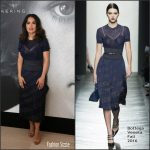 Salma Hayek in  Bottega Veneta at Kering Talks Women In Motion  69th Cannes Film Festival