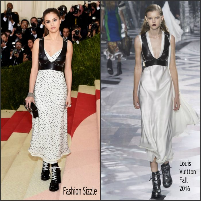 Selena Gomez  attended the  2016 MET Gala, Manus X Machina-Fashion in an Age of Technology at the Metropolitan Museum of Art in New York on May 2, 2016