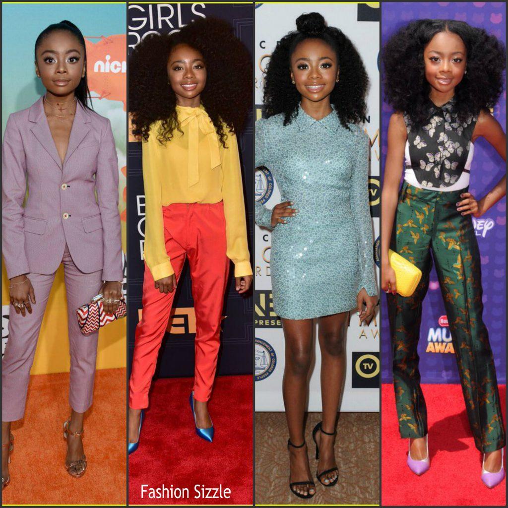 Skai Jackson Fashion Style