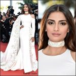Sonam Kapoor in Ralph & Russo Couture at From The Land of The Moon (Mal De Pierres) 69th Cannes Film Festival Premiere