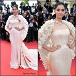 Sonam Kapoor in Ralph & Russo Couture at Loving 69th Cannes Film Festival Screening