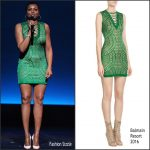 Taraji P. Henson  In Balmain at FOX Upfronts  2016