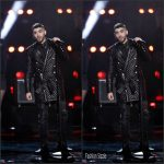 Zayn Malik  In Balmain at The Voice Finale for Season 10
