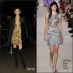 Zendaya in Michael Kors –  Met Gala After Party