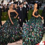 Zoe Saldana in Dolce & Gabbana at the 2016 MET Gala