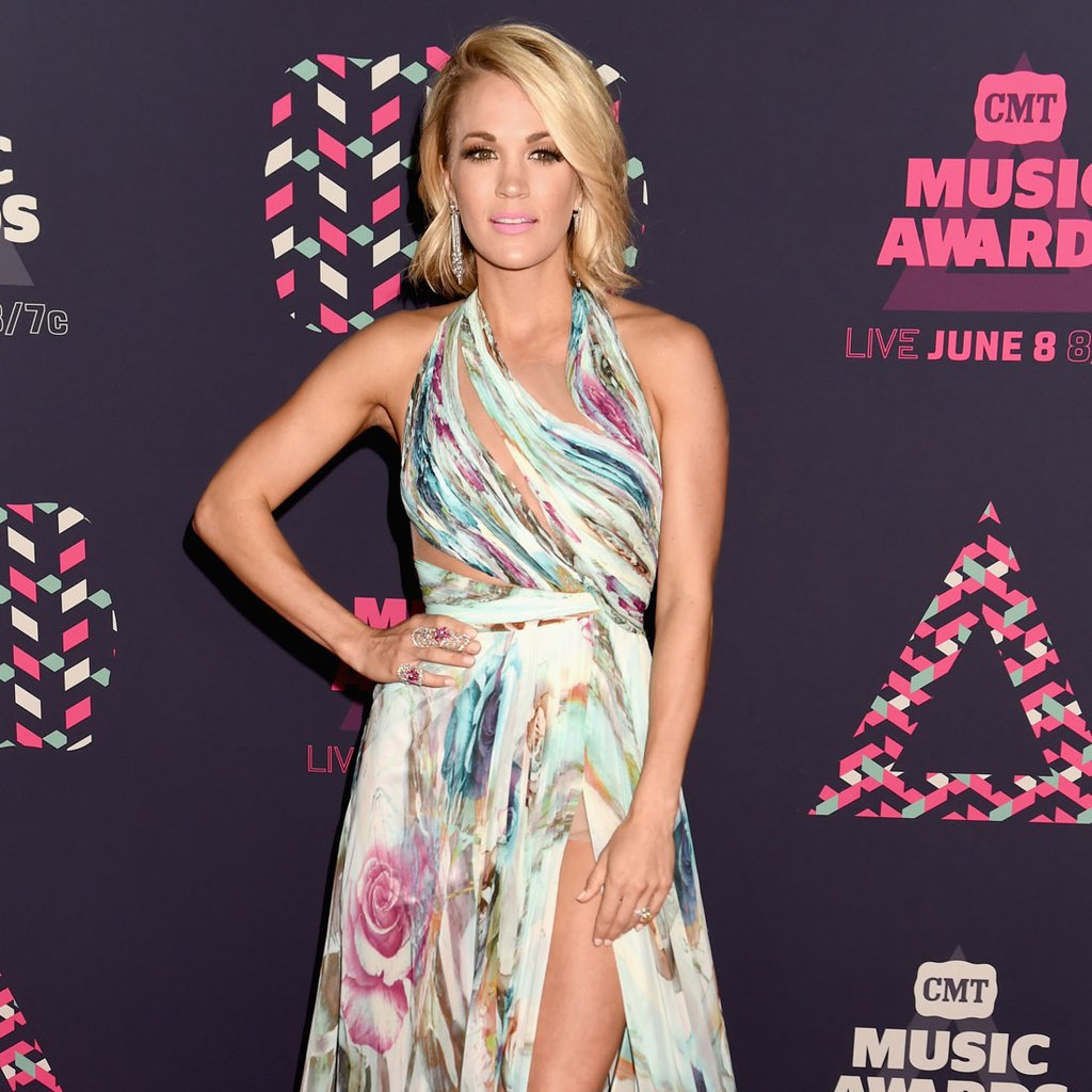 Carrie Underwood In Mikaeld At The 2016 Cmt Music Awards