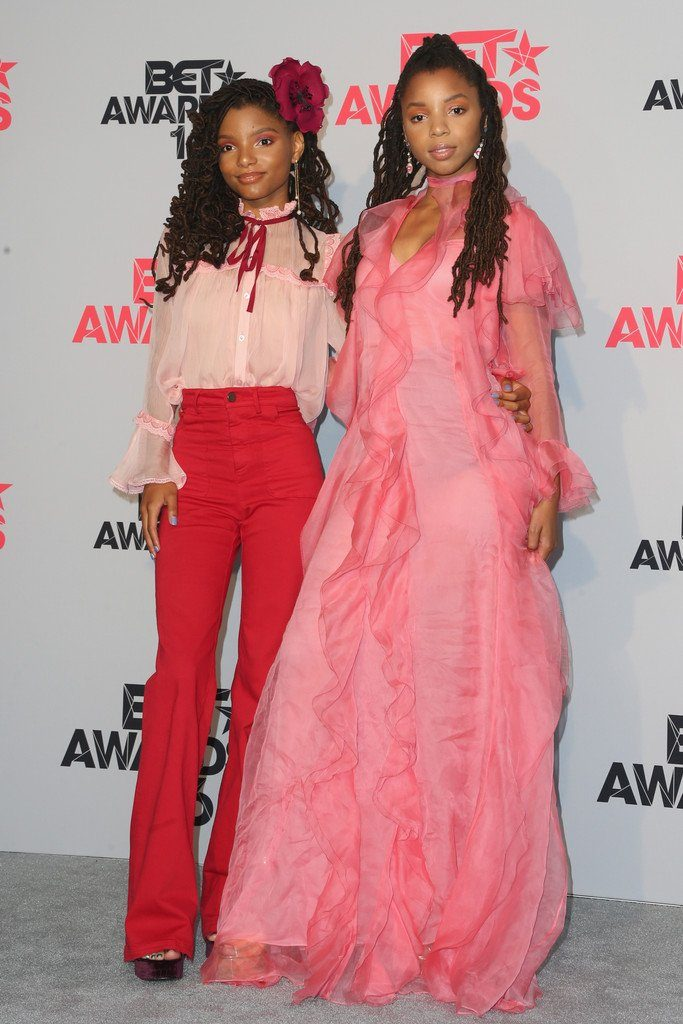 chloe-and-halle-bailey-in--gucci-at-the-2016-bet-awards