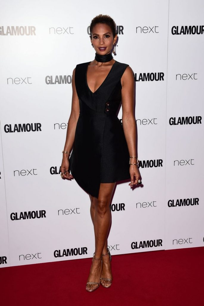 Glamour-Women-of-the-Year-Awards-2016-alesha-dixon-little-black-dress