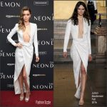 Abbey Lee in  Julien Macdonald at The Neon Demon New York  Premiere
