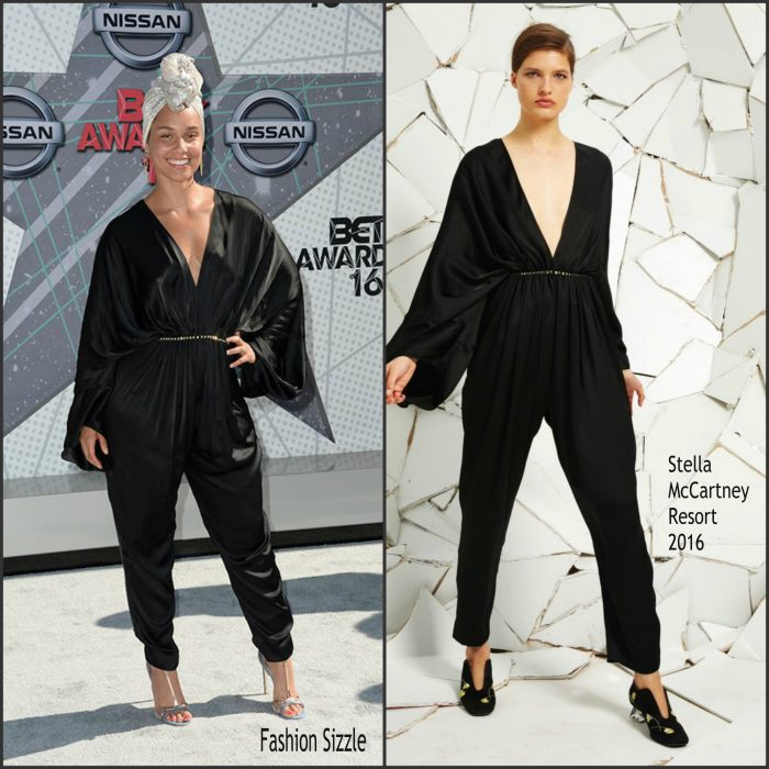 Alicia Keys  attended  the 2016 BET Awards,s evening at the Microsoft Theater in LA.