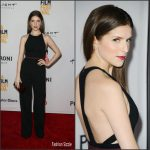 Anna Kendrick in Narciso Rodriquez at The Hollars 2016 Los Angeles Film Festival Premiere