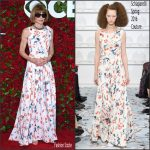 Anna Wintour  in Schiaparelli Couture  at the 70th Annual Tony Awards