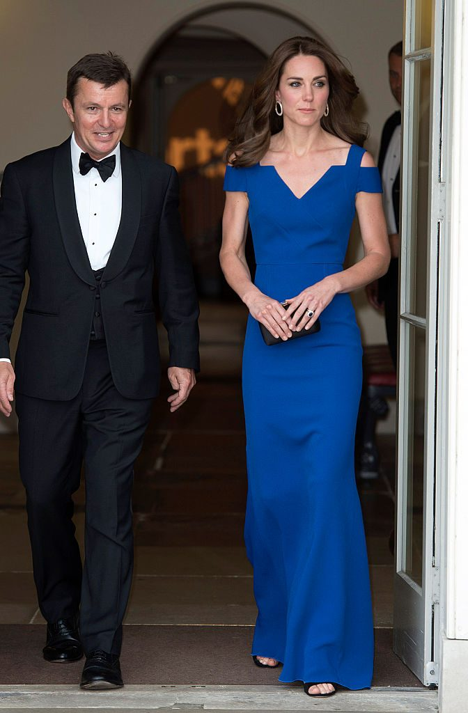 The- Duchess- Of -Cambridge -Attends- The -40th- Anniversary -Of -SportsAid