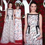 Bee Shaffer in Erdem at the 70th Annual Tony Awards